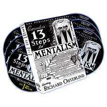 13 Steps To Mentalism DVD set - Richard Osterlind*