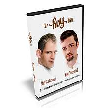 The Roy DVD by Roy Zaltsman and Roy Yozevitch