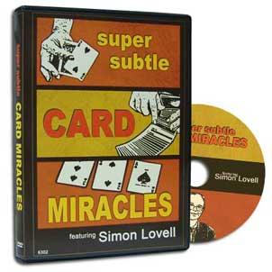 Super Subtle Card Miracles by Simon Lovell*