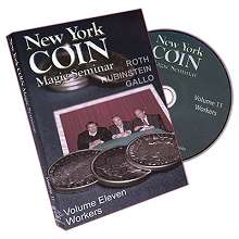 New York Coin Magic Seminar volumes 11 - 13
