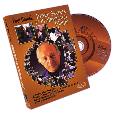 Paul Daniels Inner Secrets Of Professional Magic