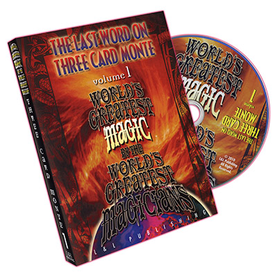 The Last Word on Three Card Monte 3 Volume Set
