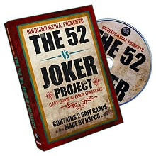 The 52 vs Joker Project by Gary Jones & Chris Congreaves*