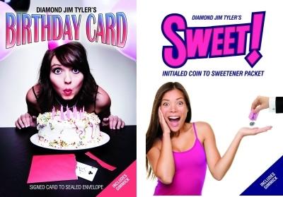 Sweet plus Birthday Card - Diamond Jim Tyler