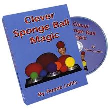 Clever-Sponge-Ball-Magic-by-Duane-Laflin