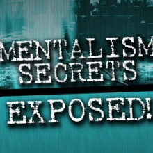 Mentalism Secrets Exposed by Dr. Jonathan Royle