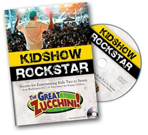 Kidshow Rockstar - The Great Zucchini*