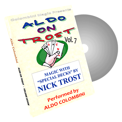 Aldo On Trost volume 7 (Special Decks) by Aldo Colombini - video DOWNLOAD