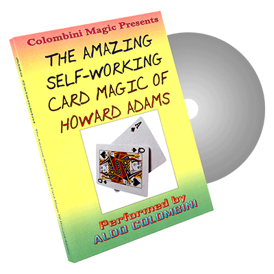 Amazing-Self-Working-Card-Magic-of-Howard-Adams-by-Aldo-Colombini--DVD