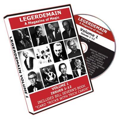 Legerdemain Magazine - volume1 (CD)