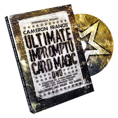 Ultimate Impromptu Card Magic by Cameron Francis