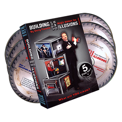 Building Your Own Illusions, The Complete Video Course by Gerry Frenette (6 DVD Set)