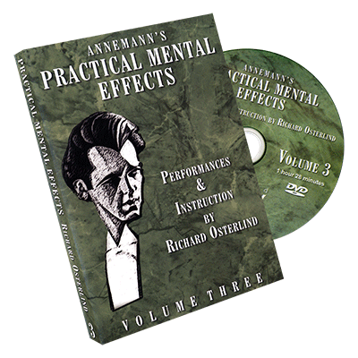 Annemanns Practical Mental Effects by Richard Osterlind Vol 3*