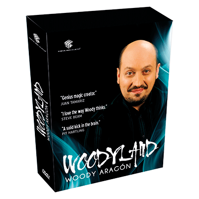 Woodyland (4 DVD Set) by Woody Aragon and Luis De Matos
