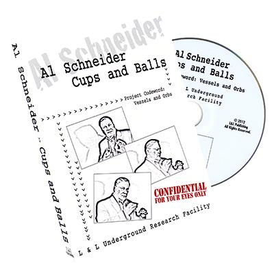 Al Schneider Cups & Balls