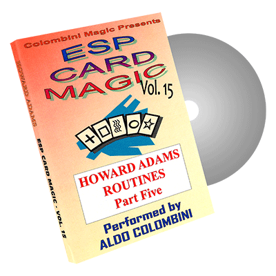 ESP Card Magic volume15 by Wild-Colombini Magic