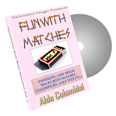 Fun With Matches Vol.1 by Wild-Colombini Magic - video DOWNLOAD