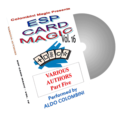 ESP Card Magic Vol.16 by Wild-Colombini Magic