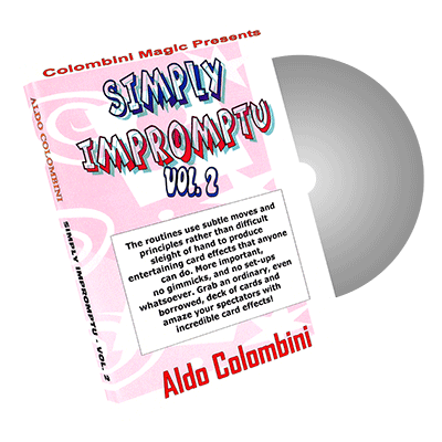 Simply Impromptu volume2 by Wild- Colombini Magic