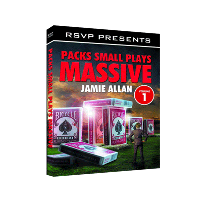 Packs Small Plays Massive by Jamie Allen