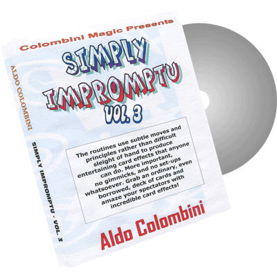 Simply Impromptu Vol.3 by Wild-Colombini Magic