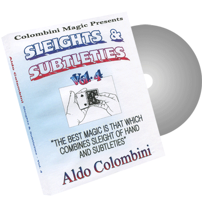 Sleights & Subtleties Vol.4 by Wild-Colombini Magic
