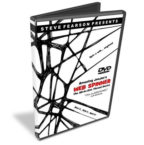 Web Spinner DVD - Steve Fearson