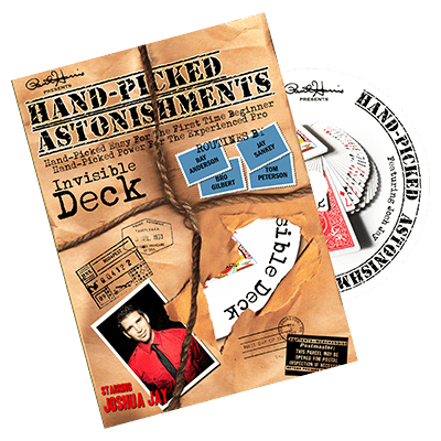 Handpicked Astonishments (Invisible Deck) by Paul Harris and Joshua Jay*