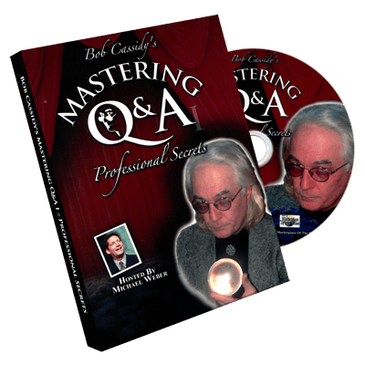 Mastering Q&A: Professional Secrets (Teleseminar CD) by Bob Cassidy - audio DOWNLOAD