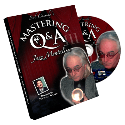 Mastering Q&A: Jazz Mentalism (Teleseminar CD) by Bob Cassidy - audio DOWNLOAD