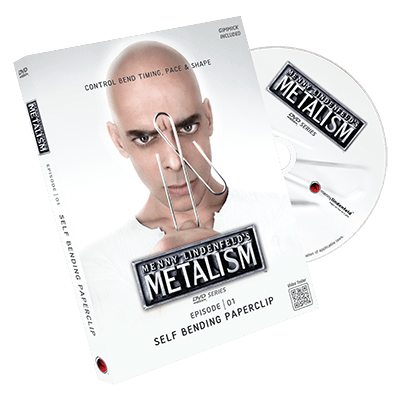 Metalism: Episode 01 - Self Bending Paperclip by Menny Lindenfeld
