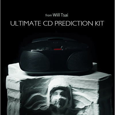 Ultimate CD Prediction DVD Kit by Will Tsai and SansMinds Magic*