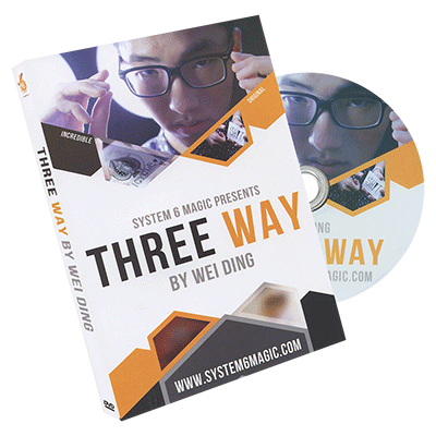 Three Way by Wei Ding & system 6*