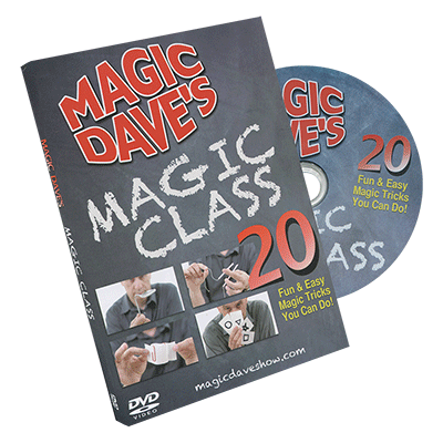 Magic Daves Magic Class by David Williamson