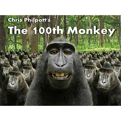 100th Monkey (2 DVD Set with Gimmicks) by Chris Philpott