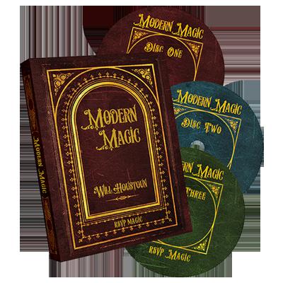 Modern Magic (3 DVD set) by Will Houstoun