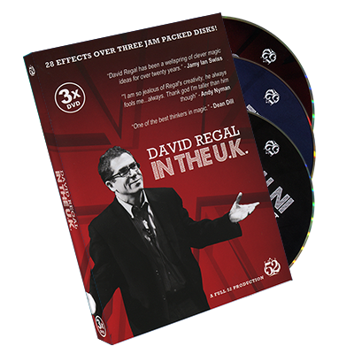 David Regal In The UK - 3 DVD Set by David Regal