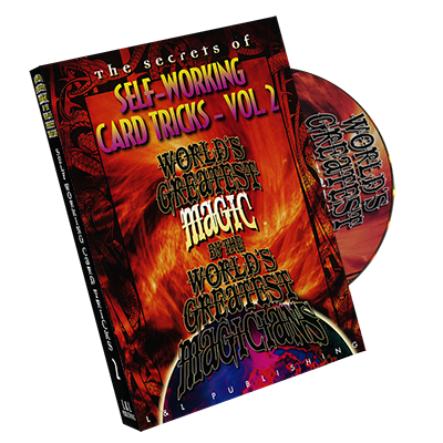 Self-Working Card Tricks - 3 Volume Set - Worlds Greatest Magic