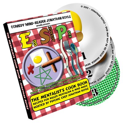 E.S.P. (Eggs -  Sausage & Peas) 3 DVD Set by Jonathan Royale