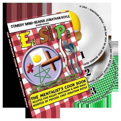 E.S.P. (Eggs -  Sausage & Peas) 3 DVD Set by Jonathan Royale*