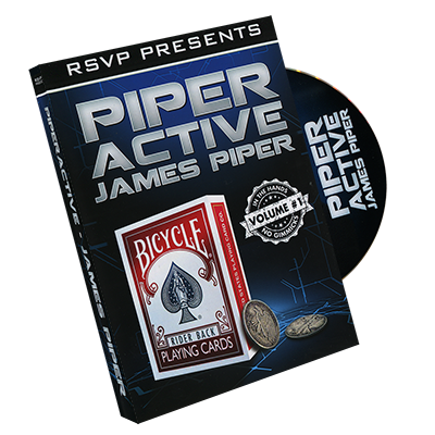 Piperactive Volume 1  by James Piper and RSVP Magic*