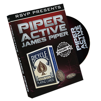 Piperactive Vol 2 by James Piper and RSVP Magic