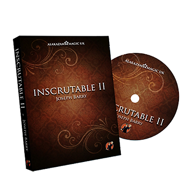 Inscrutable Chapter 2 by Joe Barry and Alakzam Magic - DVD*