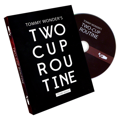 Tommy Wonder`s 2 Cup Routine