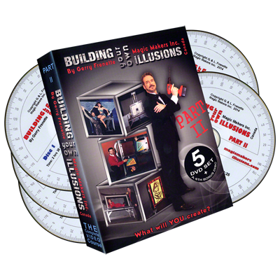 Building-Your-Own-Illusions-Part-2-The-Complete-Video-Course-(6-DVD-set)-by-Gerry-Frenette