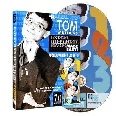 Tom Mullica`s Impromptu Magic 3 Disc Combo