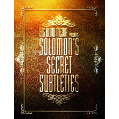 Solomon`s Secret Subtleties by David Solomon - video DOWNLOAD