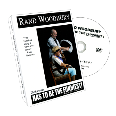 Rand Woodbury Has To Be The Funniest Magician by Rand Woodbury