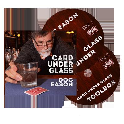Doc Eason Card Under Glass (2 DVD set) by Kozmomagic