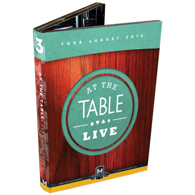 At the Table Live Lecture August 2014